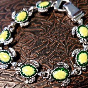Swimming Turtles Bracelet